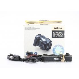 Nikon Coolpix 5400 OVP ORIGINAL VERPACKUNG - Keine Kamera dabei (234051)