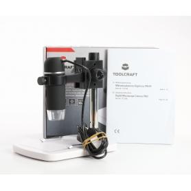 Toolcraft TO-5139594 USB-Mikroskop Digital-Mikroskop 5MP Vergrößerung 150x schwarz (234890)