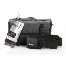 Panasonic DMW-PS10 Kameratasche Foto-Tasche 230x135x110mm grau (234928)