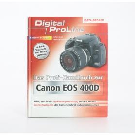Data Becker Canon EOS 400D Das Profi-Handbuch Stefan Gross ISBN-9783815826256 / Buch (234938)