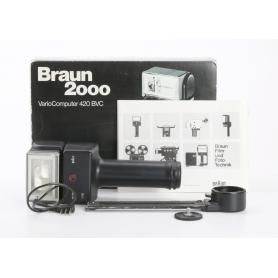 Braun Stabblitz 2000 Vario Computer 420 BVC (234955)