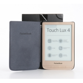 "PocketBook Touch Lux 4 eBook-Reader Limited Edition Gold 6"" 1GHz 512MB RAM gold (235274)"