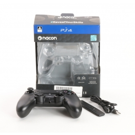 Nacon NA373417 PS4 Asymmetric Wireless Gamepad Controller PlayStation 4 USB schwarz (235280)