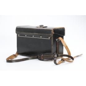 Original Benser Leder Kamera & Objektiv Tasche Koffer ca. 11x16x26 cm (233873)