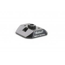 Berlebach Tele-Adapter für Nikon Stativschnellkupplung / Schnellkupplungsplatte / Stativplatte (235395)