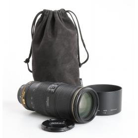 Nikon AF-S 4,0/70-200 G ED N VR (235101)