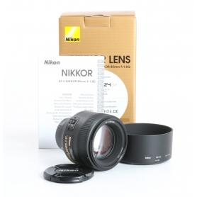 Nikon AF-S 1,8/85 G (235112)