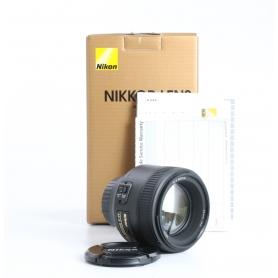 Nikon AF-S 1,8/85 G (235114)