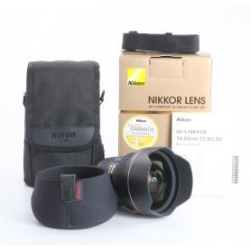 Nikon AF-S 2,8/14-24 G ED (235187)