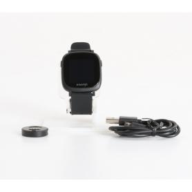 X-WATCH Ive XW Fit Smartwatch Fitness-Uhr Sportuhr Pulsmesser Herzfrequenz schwarz (235459)