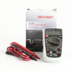VOLTCRAFT VC130-1 digitaler Hand-Multimeter CAT III 250V Anzeige Counts 2000 (235463)