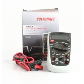 VOLTCRAFT VC130-1 digitaler Hand-Multimeter CAT III 250V Anzeige Counts 2000 (235468)