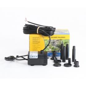 Esotec 101756 Palermo Solar-Pumpe Teichpumpe Gartenteich Pflanzschale Wasserpumpe einzeln 330l/h schwarz (235469)