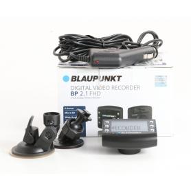 Blaupunkt BP 2.1 Dashcam Autokamera Blickwinkel horizontal max. 120° 12V Display Akku Mikrofon schwarz (235472)