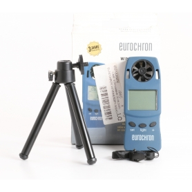 Eurochron WS4003 Anemometer Windmessgerät Geschwindigkeit Luftstrom Temperatur 0,3 bis 30m/s (235473)