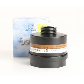 Ekastu Dirin 230 A2-P3RD Kombinationsfilter Kombifilter Atemschutzfilter ABS Kunststoff schwarz (235487)