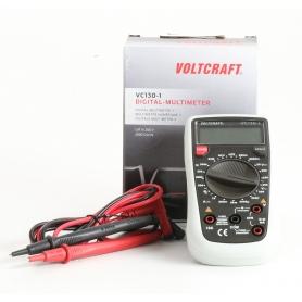 VOLTCRAFT VC130-1 digitaler Hand-Multimeter CAT III 250V Anzeige Counts 2000 (235488)