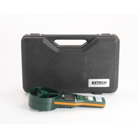 Extech AN300 Anemometer Messgerät Luftgeschwindigkeit Luftstrom Temperatur 0,2 bis 30m/s grün (235516)
