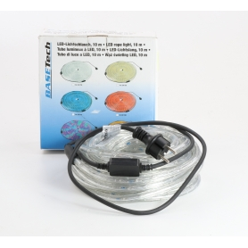 Basetech LED BR-LEDRL10mm Lichtschlauch Lichterkette 10m multi-color (235523)