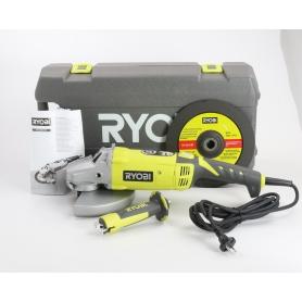 Ryobi EAG2000RS Winkelschleifer Trennschleifgerät mit Koffer 2000 Watt 6000U/min Scheibe Ø230mm (235530)