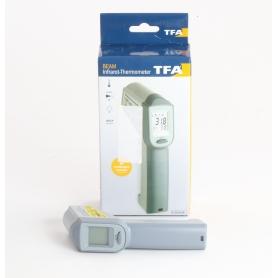 TFA Dostmann 31.1132 Beam Infrarot-Thermometer Pyrometer Hold-Funktion grau (235502)