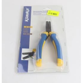 Klauke K48 Presszange Aderendhülsen 0,14-2,5 mm² gelb blau (235504)