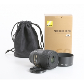Nikon AF-S 2,8/60 Micro G ED (235612)
