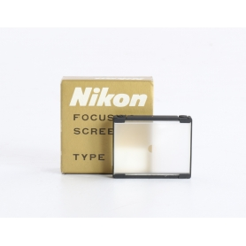 Nikon F Einstellscheibe Focusing Screen Type J (219550)