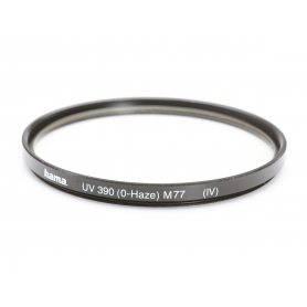 Hama UV-Filter 77 mm UV 390 (0-Haze) (IV) E-77 (218605)