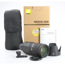 Nikon AF-S 2,8/70-200 G IF ED VR II (235678)