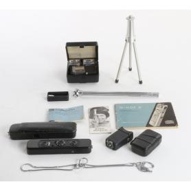 Minox Miniaturkamera Mini Camera Set mit Stativ (236116)