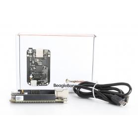 Circuitco BeagleBone Black BB-BBLK-000 Rev C Entwicklungsboard Einplatinen-PC 512MB RAM 4GB schwarz (236315)