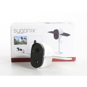 Sygonix Sygonix X6000 WLAN IP Überwachungskamera 1920x1080 Pixel wasserfest IP66 weiß schwarz (236316)