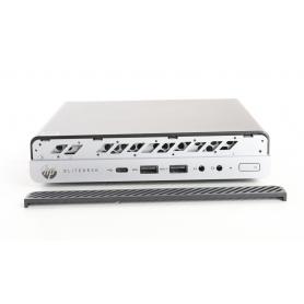 HP EliteDesk 705 G4 Desktop PC AMD Ryzen 3 Pro 2200GE 3,2GHz 8GB RAM 128GB SSD AMD Radeon Vega 8 Windows schwarz silber (236340)