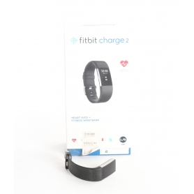 fitbit Charge 2, Black Silver Large (236328)