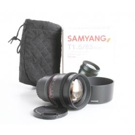 Samyang T 1,5/85 AS IF UMC II für MFT (236504)