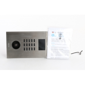 DoorBird D2103V IP-Video-Türsprechanlage LAN Außeneinheit 3 Familienhaus Edelstahl (236521)