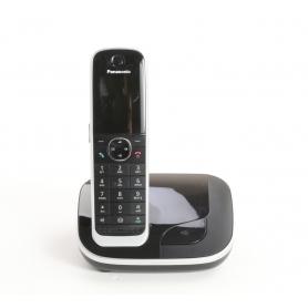 Panasonic KX-TGJ310GB Schnurloses Telefon Schnurlostelefon analog Babyphone Freisprechen Wecker schwarz (236564)