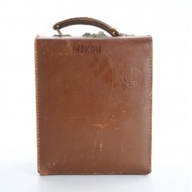 Bolex Leder Koffer Objektiv Kamera Tasche ca. 22x28x13 cm (236612)