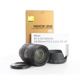 Nikon AF-S 3,5-5,6/16-85 G ED VR DX (236875)
