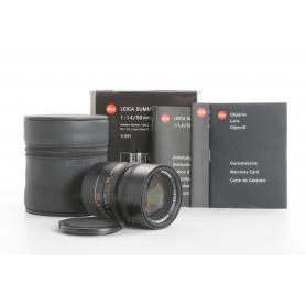 Leica Summilux-M 1,4/50 Black ASPH. 6-Bit (236908)