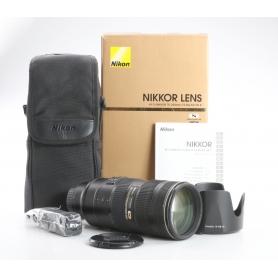 Nikon AF-S 2,8/70-200 G IF ED VR II (237056)
