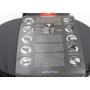 KLICKfix Doggy Hundefahrrad-Tasche Hundekorb Einkaufstasche Shopper Camping Outdoor grau schwarz (236823)