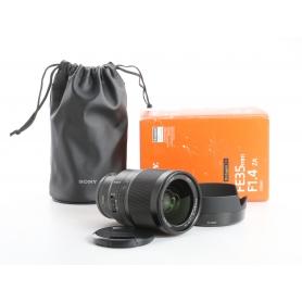 Sony Zeiss Distagon FE 1,4/35 T* E-Mount (SEL35F14Z) (236931)