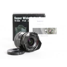 Voigtländer Super-Wide-Heliar 4,5/15 ASPH. III Sony FE-Mount (236935)