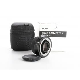Sigma TC-1401 Tele Converter Telekonverter 1,4x NI/AF D (236957)