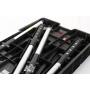 Keter 17182239 Werkzeugbank Werkbank Master Pro Serie Folding Work Table Kunststoff schwarz rot (236832)
