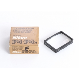 """Nikon Einstellscheibe Type """"E"""" F4 / F4s Focusing Screen (237110)"""