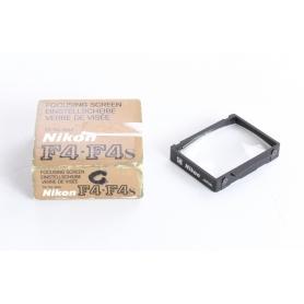 """Nikon Einstellscheibe Type """"C"""" F4 / F4s Focusing Screen (237115)"""