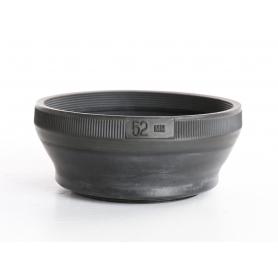 OEM 52mm Gummi Sonnenblende Lens Hood (237119)
